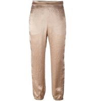 Sonia Rykiel Satin Cropped Pants