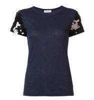 Sonia Rykiel Sequined Sleeve T Shirt