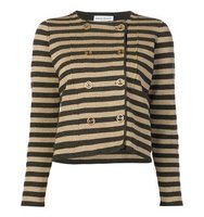Sonia Rykiel Striped Boxy Cardigan