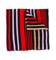 Sonia Rykiel Striped Colour Block Scarf