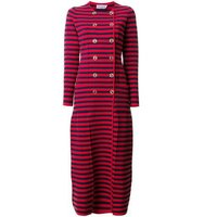Sonia Rykiel Striped Long Coat