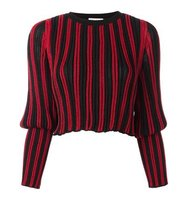 Sonia Rykiel Tight Longsleeves Striped Pullover