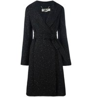 Stella Mccartney Speckled Knit Coat