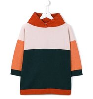 Tiny Cottons Color Block Poncho Jumper
