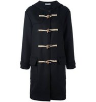 Tomas Maier Hooded Duffle Coat