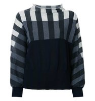 Tomas Maier Striped Colour Block Sweatshirt