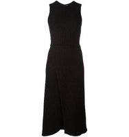 Victoria Beckham Jacquard Sleeveless Dress