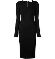 Victoria Beckham Longsleeved Fitted Dress