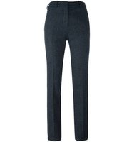 Victoria Beckham Plaid Skinny Trousers