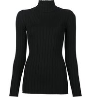 Victoria Beckham Ribbed Roll Neck Jumper