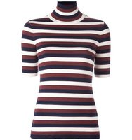 Victoria Beckham Striped Fine Knit Jumper
