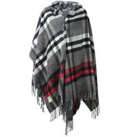 Vivienne Westwood Checked Poncho