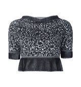Vivienne Westwood Red Label Knitted Cropped Top