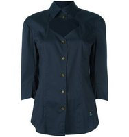 Vivienne Westwood Red Label Open Chest Buttoned Blouse