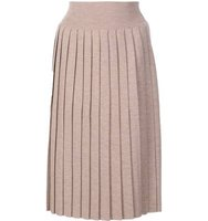 Vivienne Westwood Red Label Pleated Knit Skirt