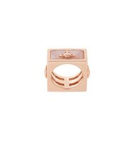 Vivienne Westwood Red Label Saturn Motif Square Ring
