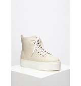 Forever21 Platform High Tops Beige