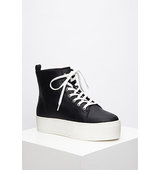 Forever21 Platform High Tops Black