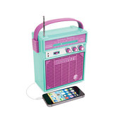 Forever21 Sunnylife Retro Sounds Radio Mint Purple One