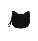 Forever21 The Whitepepper Faux Leather Cat Crossbody Black One