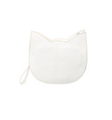 Forever21 The Whitepepper Faux Leather Cat Crossbody Ivory One
