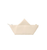 Forever21 The Whitepepper Origami Boat Crossbody Ivory One