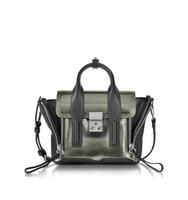 31 Phillip Lim Gunmetal Pashli Mini Satchel