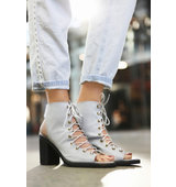 Jeffrey Campbell Free People Perf Minimal Lace Heel