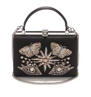 Alexander Mcqueen Surreal Charms Handle Box Clutch