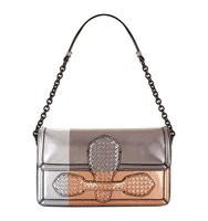 Bottega Veneta Metallic Shoulder Bag