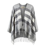 Burberry Shoes Accessories Merino Wool And Cashmere Check Poncho