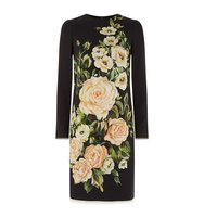 Dolce Gabbana Floral Print Shift Dress