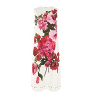 Dolce Gabbana Floral Printed Shift Dress