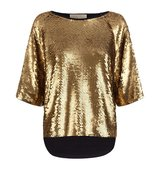 Michael Michael Kors Oversized Sequin Top