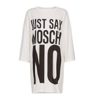 Moschino Slogan Print T Shirt Dress