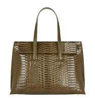 Tom Ford Small Serina Python Tote Bag