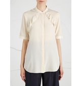 31 Phillip Lim Champagne ruffled silk blouse