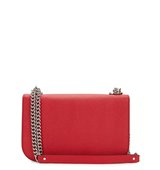 Alexander McQueen Red leather shoulder bag