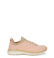 Athletic Propulsion Labs TechLoom Phantom peach knitted trainers