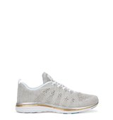 Athletic Propulsion Labs TechLoom Pro metallic knitted trainers