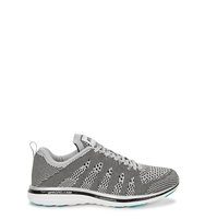 Athletic Propulsion Labs TechLoom Pro silver knitted trainers