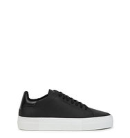 Axel Arigato Black leather trainers