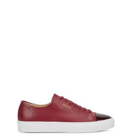 Axel Arigato Dark red leather trainers