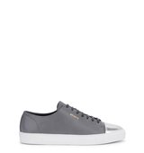 Axel Arigato Grey and silver leather trainers