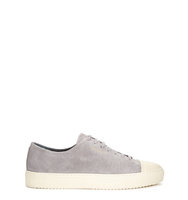 Axel Arigato Grey suede and leather trainers