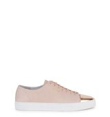 Axel Arigato Light pink leather trainers