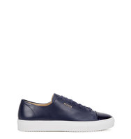 Axel Arigato Navy leather trainers