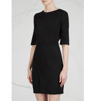 Givenchy Black twill mini dress