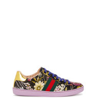 Gucci Floral jacquard trainers