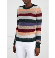 Isabel Marant Etoile Cassie striped mohair blend jumper